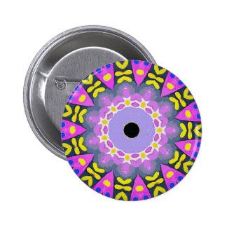 kaleidoscope pinback button