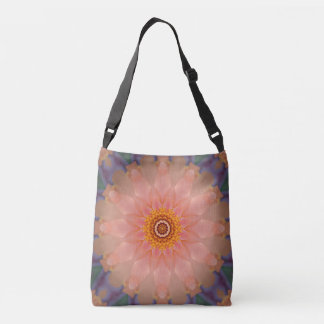 Kaleidoscope Pink Floral Crossbody Bag