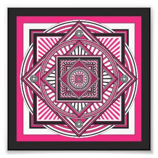Kaleidoscope PINK Photograph