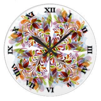 Kaleidoscope Pinwheel Clock - Round 2