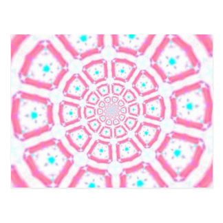 Kaleidoscope post card