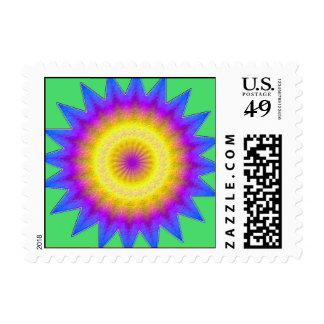 Kaleidoscope -postage stamps