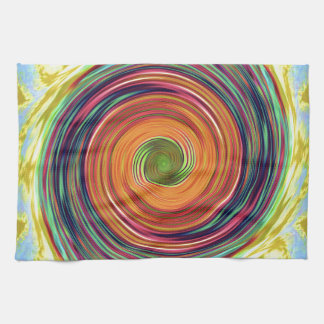 Kaleidoscope product designs by Carole Tomlinson Kitchen Towel