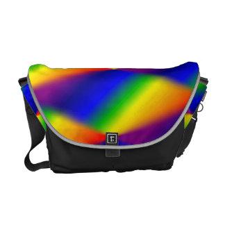 Kaleidoscope Rainbow Messenger Bag