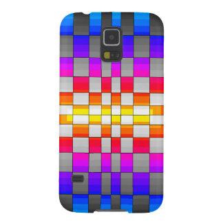 Kaleidoscope Rainbow Spectrum Colors Chessboard Galaxy Nexus Covers