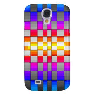 Kaleidoscope Rainbow Spectrum Colors Chessboard HTC Vivid / Raider 4G Case