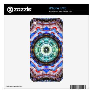 Kaleidoscope Reflections iPhone 4 Decal