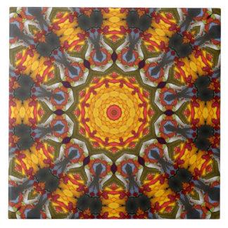 Kaleidoscope salad tiles