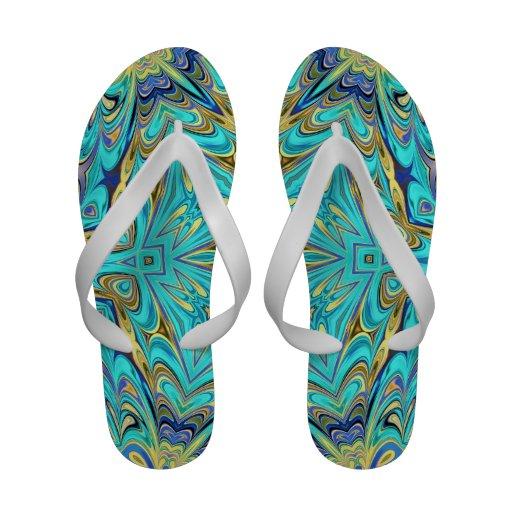 kaleidoscope sandals