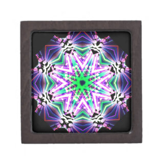 Kaleidoscope Shatters Prism Rainbow Club Jewelry Box