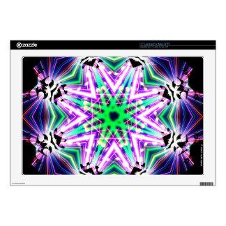 Kaleidoscope Shatters Prism Rainbow Club Skin For Laptop