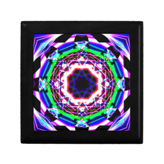 Kaleidoscope Shatters Prism Rainbow Jewelry Box