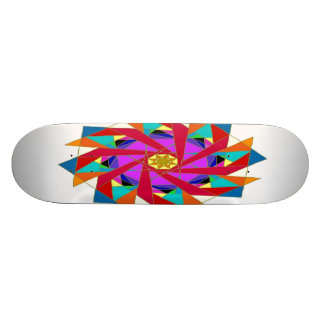 Kaleidoscope Skateboard