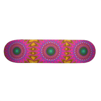 kaleidoscope skateboard deck