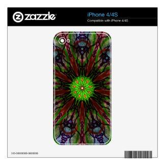 Kaleidoscope iPhone 4S Decal