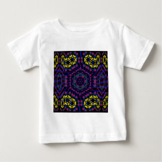 Kaleidoscope & Spiral: Abstract Artwork: Baby T-Shirt