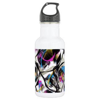 kaleidoscope stainless steel water bottle