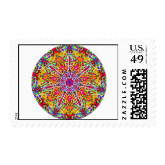 Kaleidoscope Stamp