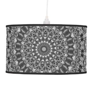 Kaleidoscope Star Grey Hanging Lamp