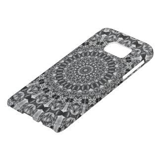 Kaleidoscope Star Grey Samsung Galaxy S7 Case
