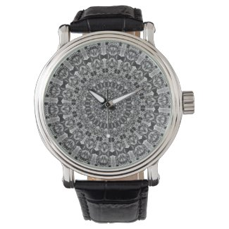 Kaleidoscope Star Grey Watch
