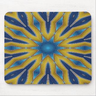 Kaleidoscope Star Mouse Mat