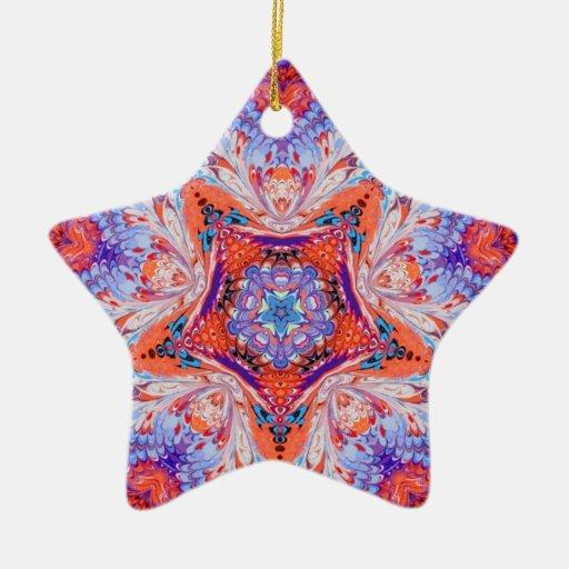 Kaleidoscope Star Ornament