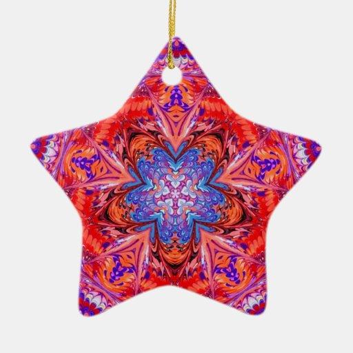 Kaleidoscope Star Shaped Ornament