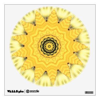 Kaleidoscope Sun and Sky Wall Decal