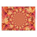 Kaleidoscope Sun Elf Card