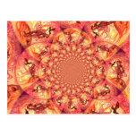 Kaleidoscope Sun Elf Post Cards