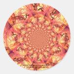 Kaleidoscope Sun Elf Sticker