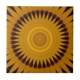 kaleidoscope sunburst design ceramic tile