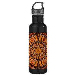 Kaleidoscope Sunset Water Bottle