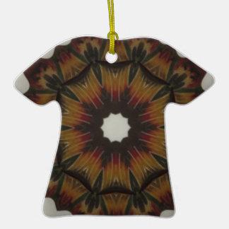 Kaleidoscope T-Shirt Christmas Ornament