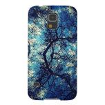 Kaleidoscope Trees Sky Galaxy S5 Covers