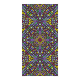 Kaleidoscope triangles card