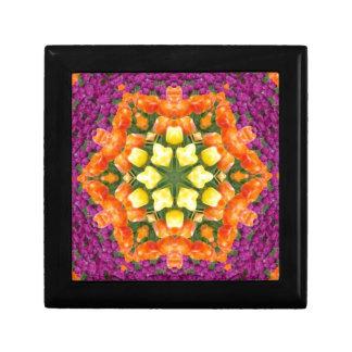 Kaleidoscope Tulips Jewelry Boxes