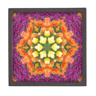 Kaleidoscope Tulips Premium Trinket Boxes