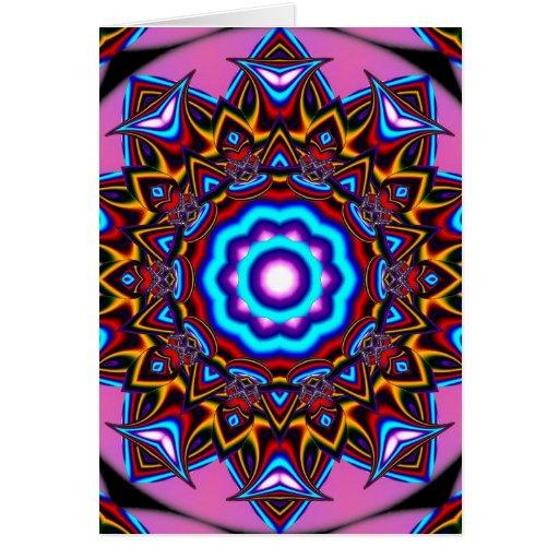 Kaleidoscope Two Greeting Card