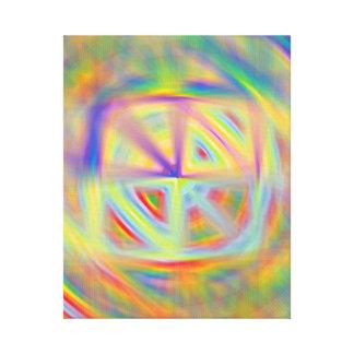 Kaleidoscope Wrapped Canvas