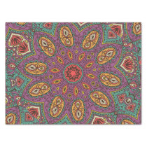 Kaleidoscope Yoga Pattern Tissue Paper