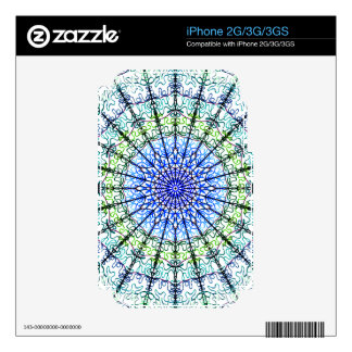 Kaleidoscope Zazzle Skin For IPhone 2G/3G