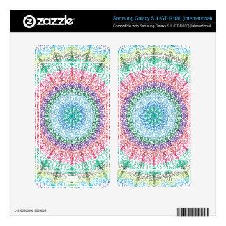 Kaleidoscope Zazzle Skin For Samsung Galaxy S ll