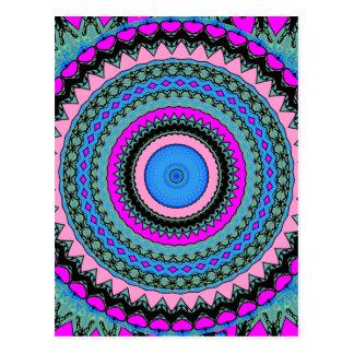 Kaleidoscopes Mandalas Postcard