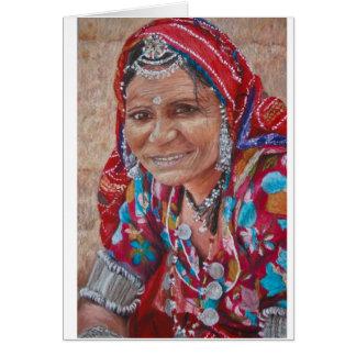 Kaleidoscopes of Jaisalmer Greeting Card