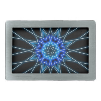 kaleidoscopic belt buckle