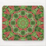 Kaleidoscopic Design Mandala Mouse Pad