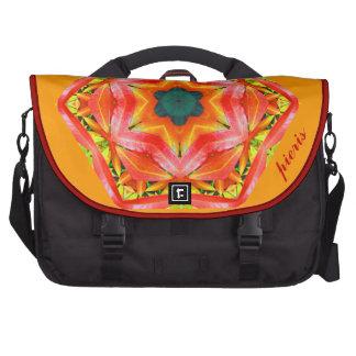 Kaleidoscopic Design - Pieris - red Commuter Bag