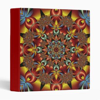 Kaleidoscopic fantasy binder